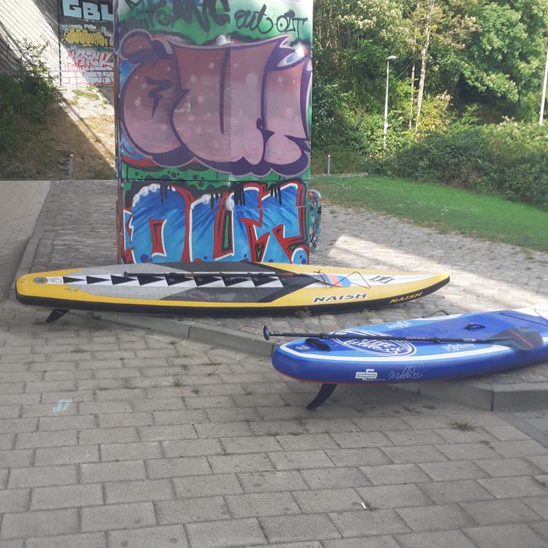 SUP Spot Schwentine - Kiel