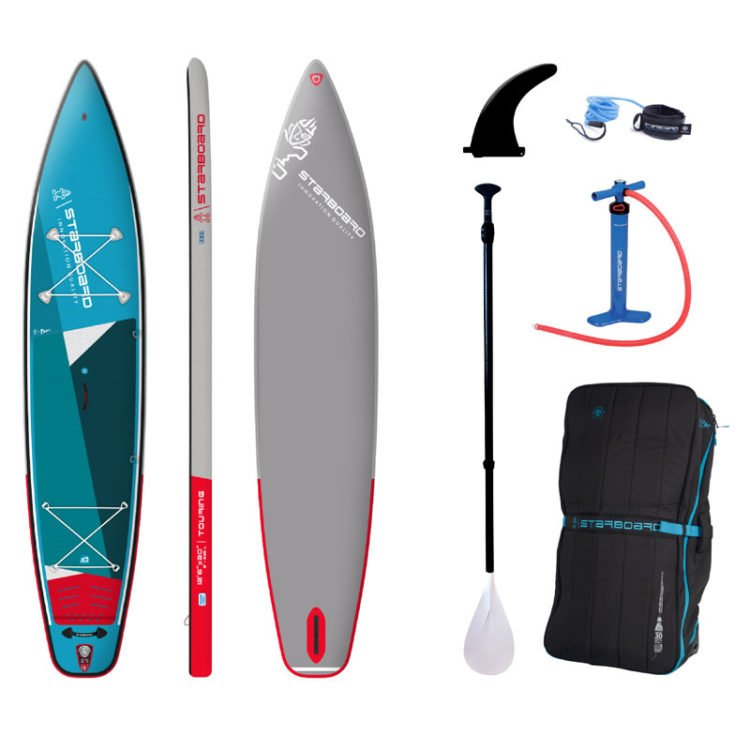 Starboard SUP Inflatable Set_Touring_ZSC_12'6-x30- + 3pcs Paddle