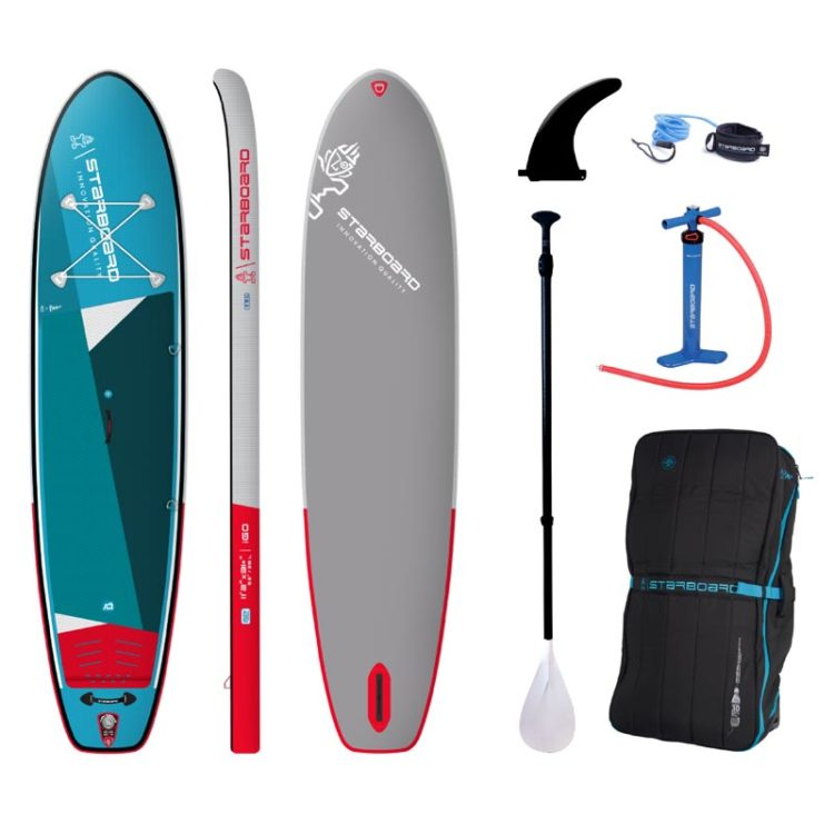 Starboard SUP Inflatable Set_iGO_ZSC_11'2-x31- + 3pcs Paddle
